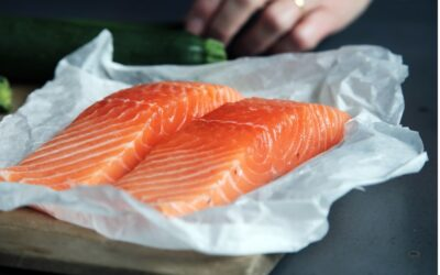 Salmon with Ginger & Coriander